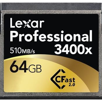 Rent Lexar 64GB CFAST Card