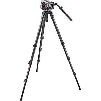Rent Manfrotto 509HD Video Head with 536 Carbon Fiber Tripod