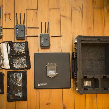 Rent Paralinx Tomahawk 2 Wireless Video Deluxe Kit 3 Receivers 2000 ft teradek