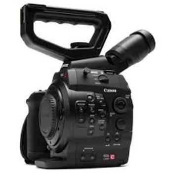 Rent Canon C300 EF Mount Camera Kit