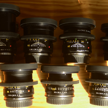 Rent 7 lens Leica R Lens Set EF Mount Cinemod