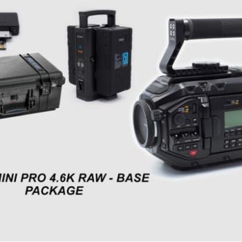 Rent URSA MINI PRO 4.6k EF or PL mount, batts, CF, reader