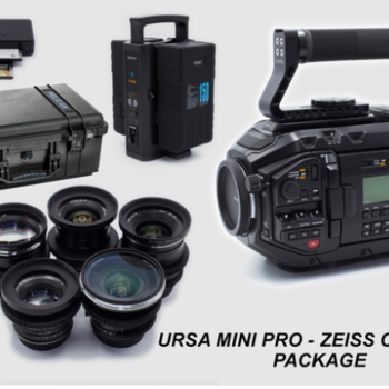 Rent URSA MINI PRO 4.6k and ZEISS Lens Package