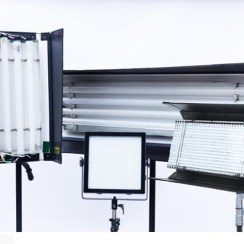 Rent Kino Flo 4' 4 bank, 2' 4 bank and a 2' Diva Kino, LED kit w/ stands