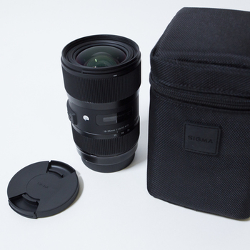Rent Sigma 18-35mm f/1.8 ART ZOOM EF mount