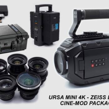 Rent Black Magic URSA Mini 4K EF Package with Zeiss Duclos Primes