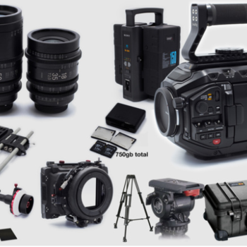 Rent Black Magic URSA Mini PRO 4.6k Complete Package SIGMA LENSES