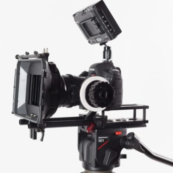 Rent Canon 6D cinema Package, Mattebox, follow focus, sticks