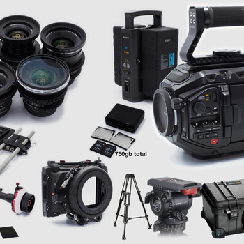 Rent Black Magic URSA Mini PRO 4.6k Complete Package ZEISS LENSES