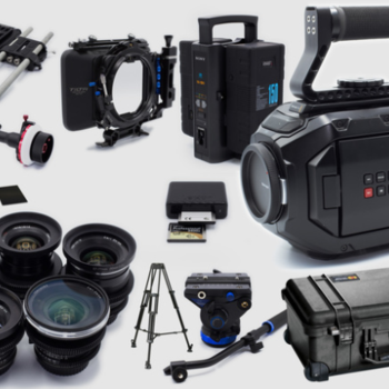 Rent Blackmagic Design URSA Mini 4K Complete kit with Zeiss