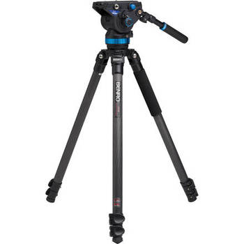 Rent Benro S8 fluid head with tripod