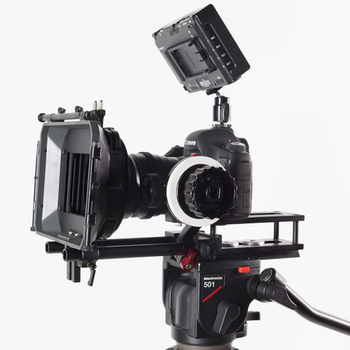 Rent 4x4 Mattebox, Baseplate and rails with flags