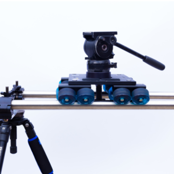 Rent Dana Dolly with stands, rails and Benro S8 head