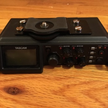 Rent Tascam 6-Track Recorder with 4 XLR Inputs