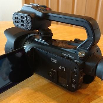 Rent Pro-mercial video camera
