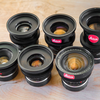 Rent Leica-R Lens Set (CineMod) 19,28,35,50,90,135 w XUME