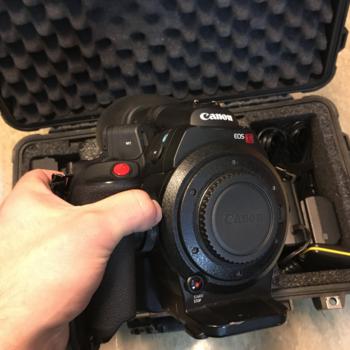 Rent Canon C300 EF with Dual Pixel Autofocus Upgrade