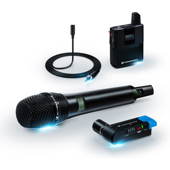 Rent Sennheiser AVX Digital Wireless Handheld and Lavalier Set