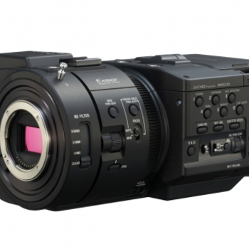 Rent Sony NEX-FS700R Super 35 Camcorder with 4K/2K 12-Bit RAW Recording Upgrade and Metabones Adapter
