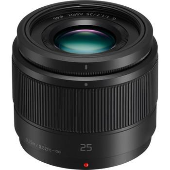 Rent Panasonic Lumix G 25mm f/1.7 ASPH. Lens