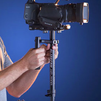 Rent Glidecam HD-2000 w/Manfrotto 577 quick release plate.