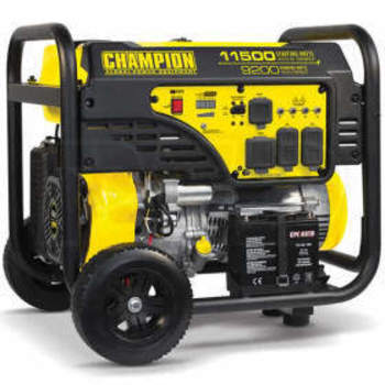 Rent Champion Generator - 9200 Watt Generator