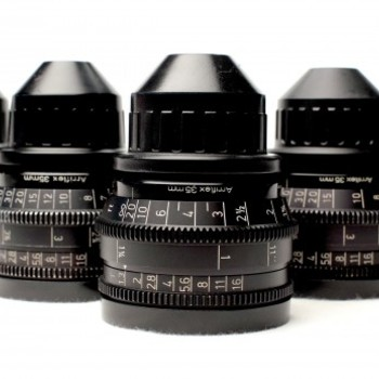 Rent Zeiss Super Speed Prime Lens Set for Regular or Super-16mm