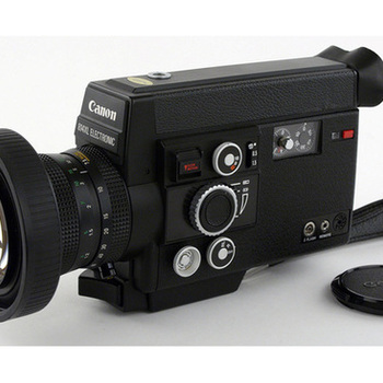 Rent Professional Super 8 Camera - Canon 814 XL - Condition Like New. Ultra Fast Lens !