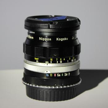 Rent Nikkor-O 35mm f/2 - Non AI - EF Mount