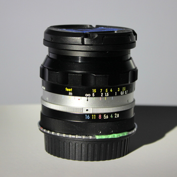 Rent Nikkor-N.C 24mm f/2.8 - Non AI - EF Mount