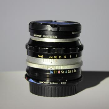 Rent Nikkor-S 50mm f/1.4 - Non AI - EF Mount