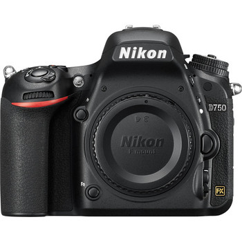 Rent Nikon D750 Full Frame DSLR Camera Body with a battery and charger
