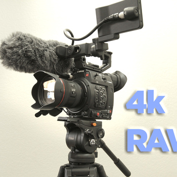 Rent CANON C200 Full package - Tripod - Mic - Lens  - More