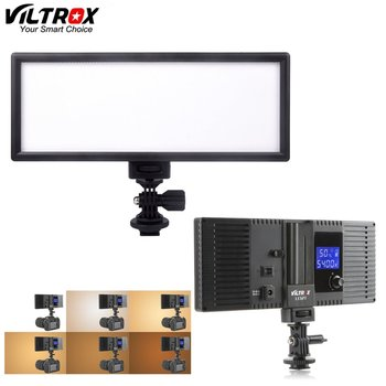 """Rent VILTROX L132T 0.78""""/2cm Ultra Wide Ultra Thin CRI95 5600K/3300K LED Video Light Dimmable Flat Panel On-camera Light Pad for DSLR Cameras DV Camcorders"""