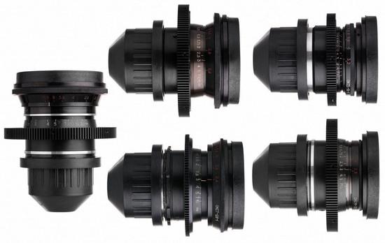 rent a lomo standard speed pl mount s35 spherical cinema lens set in