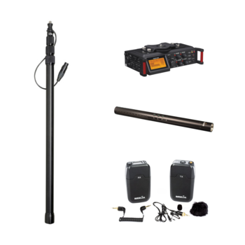 Rent Indie Audio Package (Recorder, Shotgun Mic, Boompole, Wireless Lav)