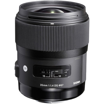Rent Sigma 35mm f/1.4 DG HSM Art Lens for Nikon F mount