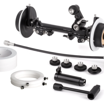 Rent Universal Follow Focus for 15mm or 19mm Rods.