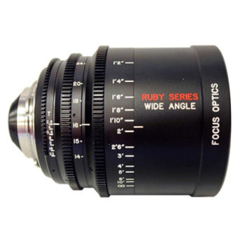 Rent Focus Optics Ruby 14-24mm PL T2.6 w/ Clear Filter & FF Adaptor