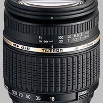 Rent Tamron AF18-250mm F/3.5-6.3 LD Ashperical (IF) Macro Lens