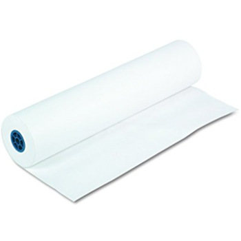 Rent Seamless White Rolled Paper (9' wide)