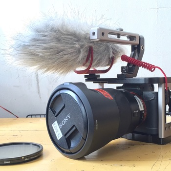Rent Sony A7sii w/ 24-70 f/2.8, cage, 5 batteries & cards