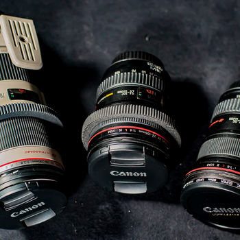 Rent Canon L Series Zooms, 3 Lens Set (16 - 200mm)