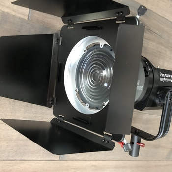 Rent Aputure 120d + Fresnel lens and light dome