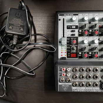 Rent Behringer Xenyx 1202fx Premium 12-Input 2-Bus Mixer w/ Power Adapter