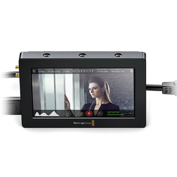 "Rent Blackmagic Design Video Assist HDMI/6G-SDI Recorder and 5"" Monitor"