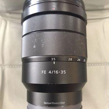 Rent Sony 16-35mm F 4.0