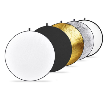 "Rent 43"" 5-in-1 Collapsible Light Reflector"