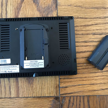 "Rent 7"" HD Camera Monitor"
