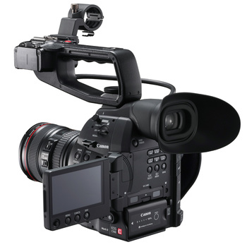 Rent Canon C100 Mark II + Zeiss Contax Lenses